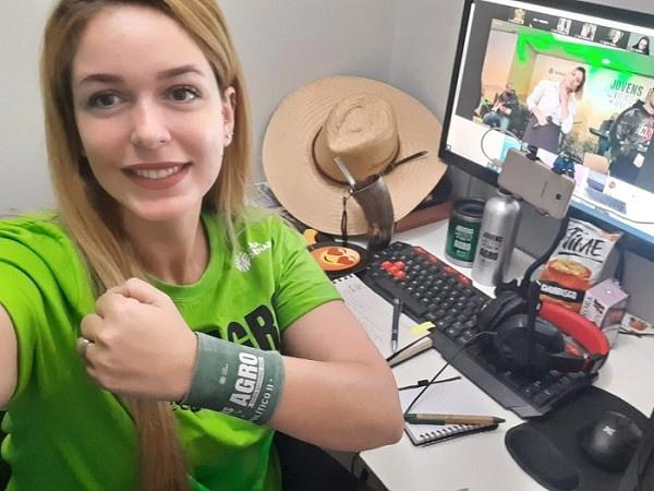 Brenda Souza está no grupo Geração Agro Política com foco na política