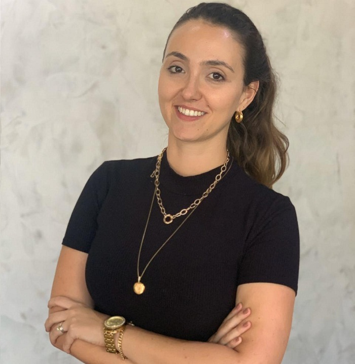 Camila Cardoso (imagem antes da pandemia)