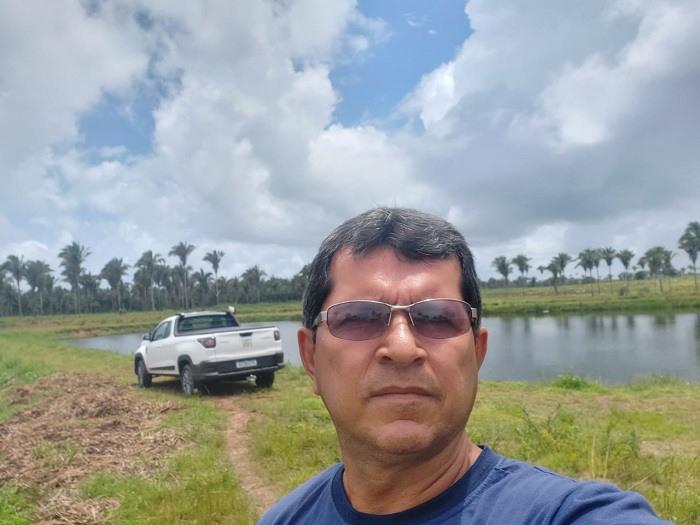 O piscicultor Carlos César planeja aumentar a produção para 20 toneladas de peixe por safra