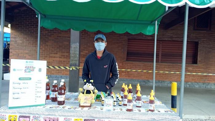 Familia Marinho viu na Feira Segura a oportunidade de retomar as vendas