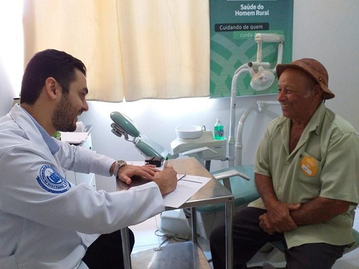 Atendimento do programa na Bahia. Foto tirada antes da pandemia do novo coronavírus.