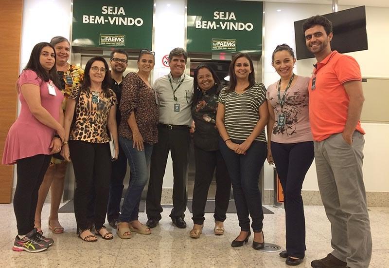 Repasse técnico Programa Agente de Turismo Rural - SENAR MINAS - BH, fevereiro 2019