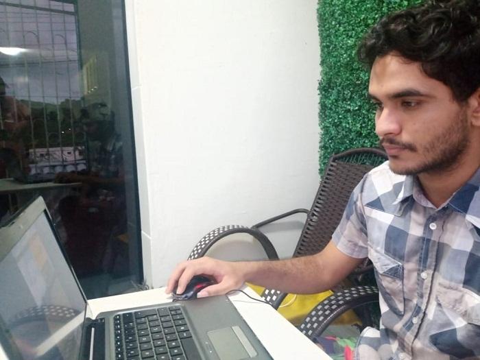 Luciano José viu nas cartilhas virtuais do Senar uma oportunidade para se aperfeiçoar no agro