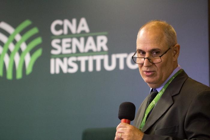 Gerente de Comercialização e Estoques da Conab, Elias Carvalho de Camargos
