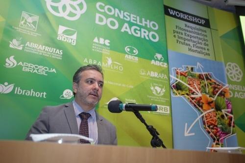 Marcus Coelho, do Ministério da Agricultura