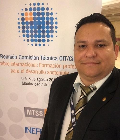 O assessor técnico Rafael Nascimento Costa