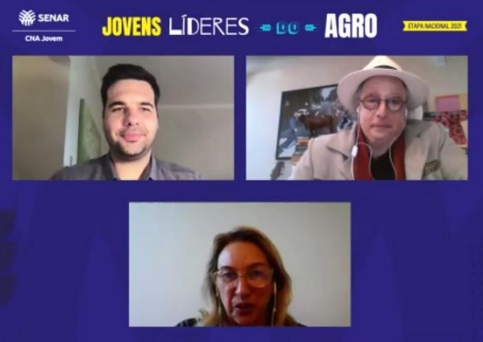Os consultores Paulo Crepaldi e José Luiz Tejon e a diretora, Janete Almeida