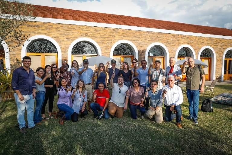 Encerramento da 5ª edição da missão AgroBrazil na Estância Guatambu