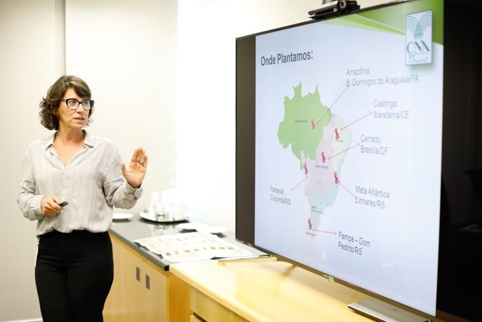 CNA apresenta projeto biomas banco mundial
