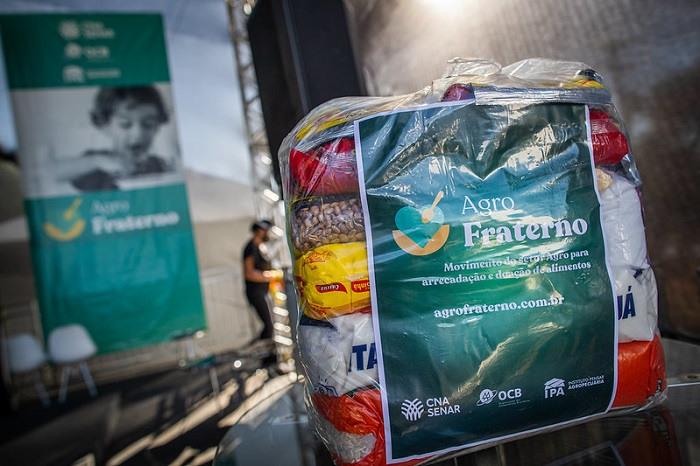 Cestas de alimentos ajudam a saciar a fome de famílias impactadas pela pandemia