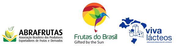 Apoiadores da Missão à Ásia 2018 - Abrafrutas, frutas do brasil, Viva Lacteos