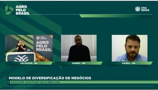 Valdinei Barreto e João Oliveira falam sobre a potencialidade da fruticultura na região de Gandu (BA)