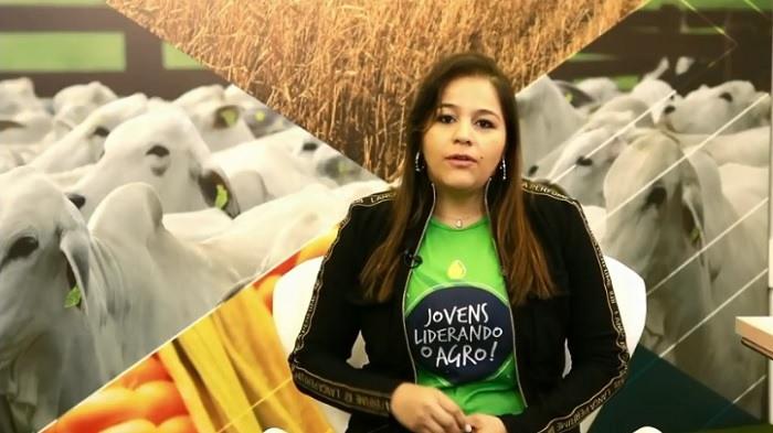 Coordenadora do CNA Jovem, Fernanda Nonato