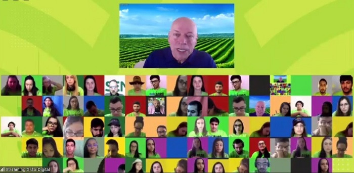 O professor Leandro Karnal palestrou sobre a liderança humana