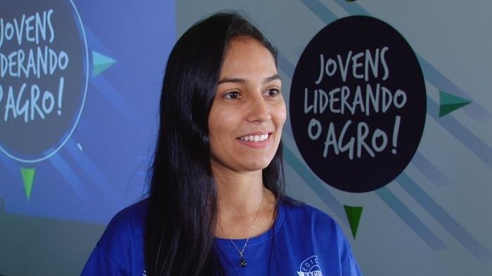 Luana Souza, jovem liderança do agro de Roraima