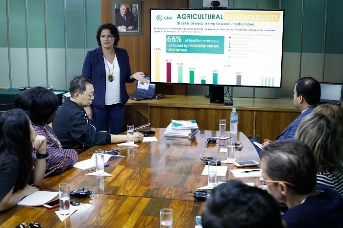 Lígia Dutra, superintendente de Relações Internacionais da CNA