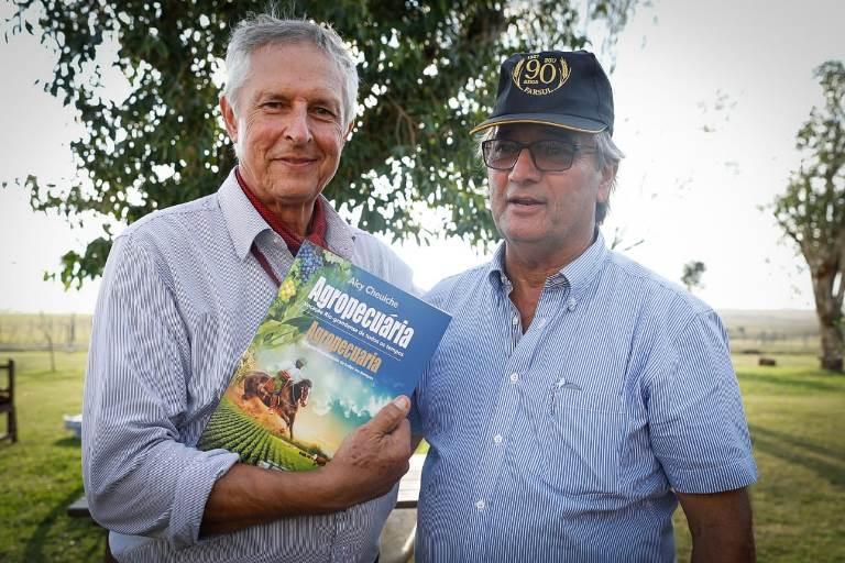 Walter José Pötter e Gedeão Pereira