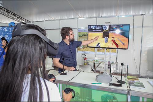 Resultado de imagem para realidade virtual senar